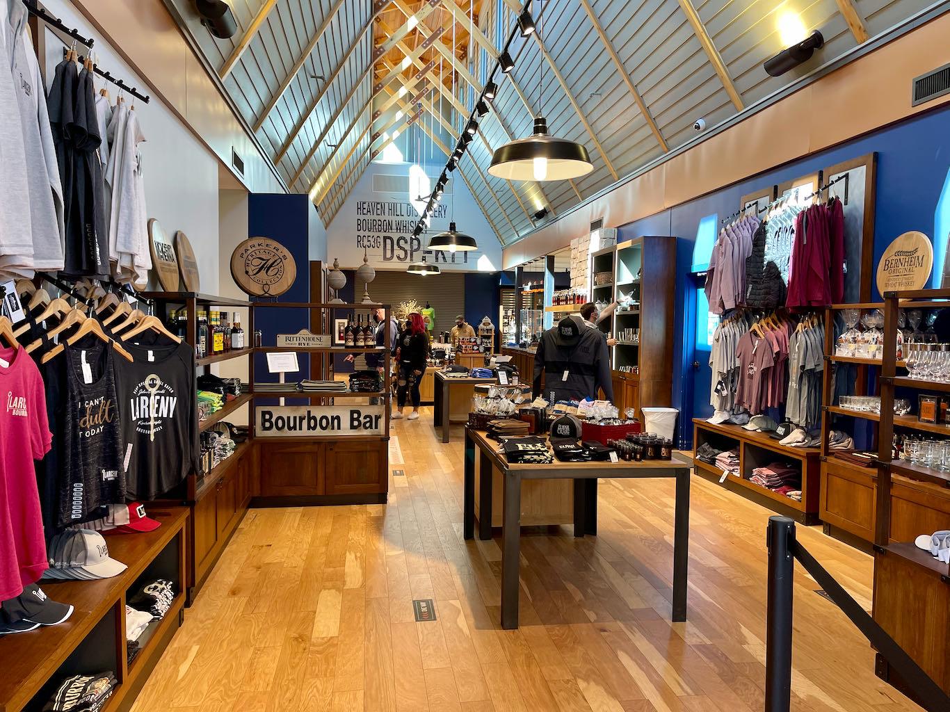 Gift Shop - Heaven Hill Distillery Bourbon Heritage Center