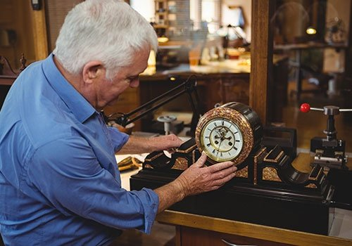 Checking a Clock in  Workshop