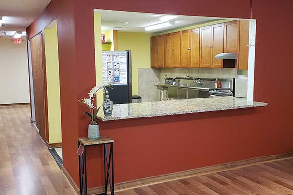 Assisted Living Home Kitchen