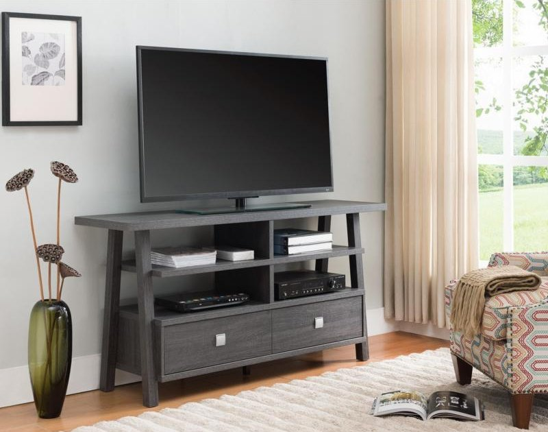 4808-TAU Jarvis Grey TV Stand