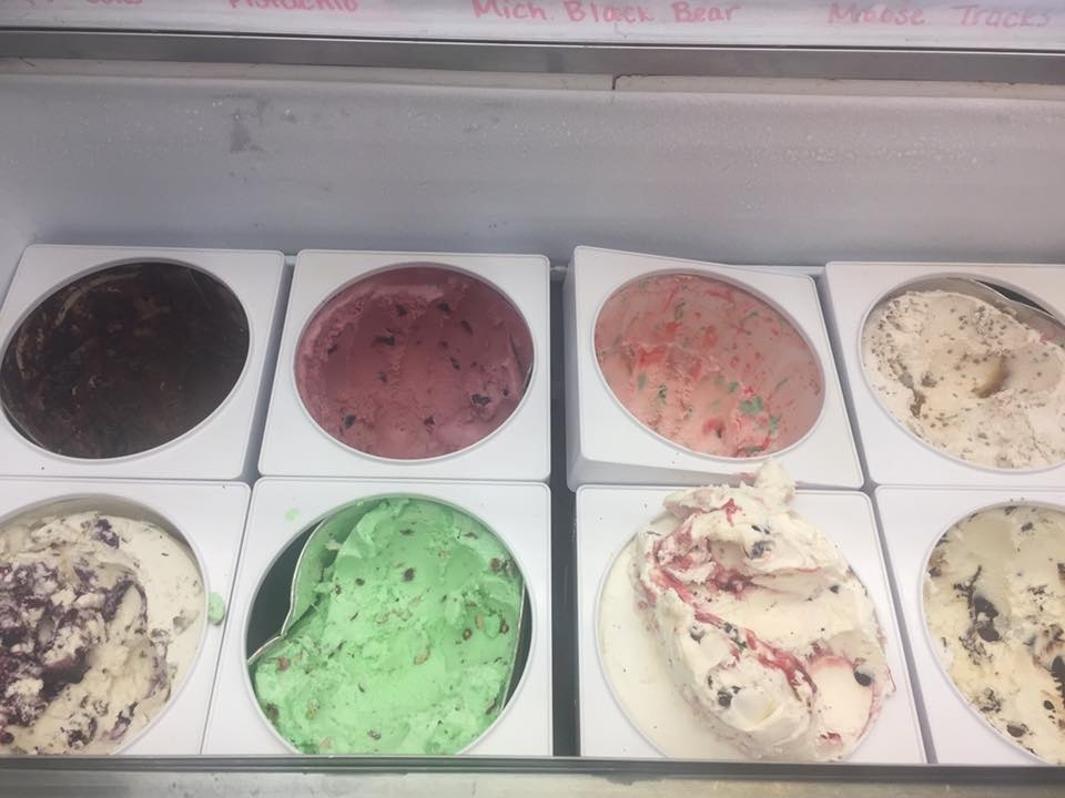 Different Ice Cream Flavors
