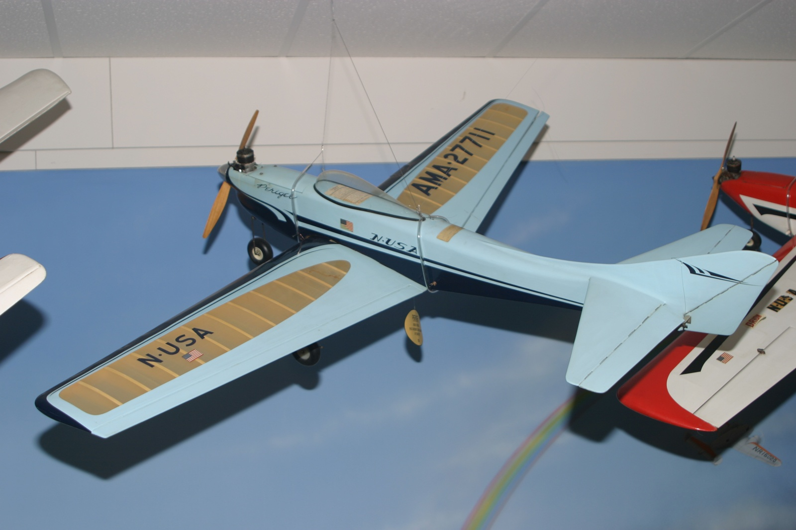 Original model on display in the AMA Museum