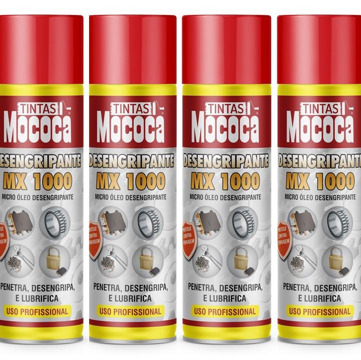 SPRAY LUBRIFICANTE DESINGRIPANTE MX1000 MOCOCA
