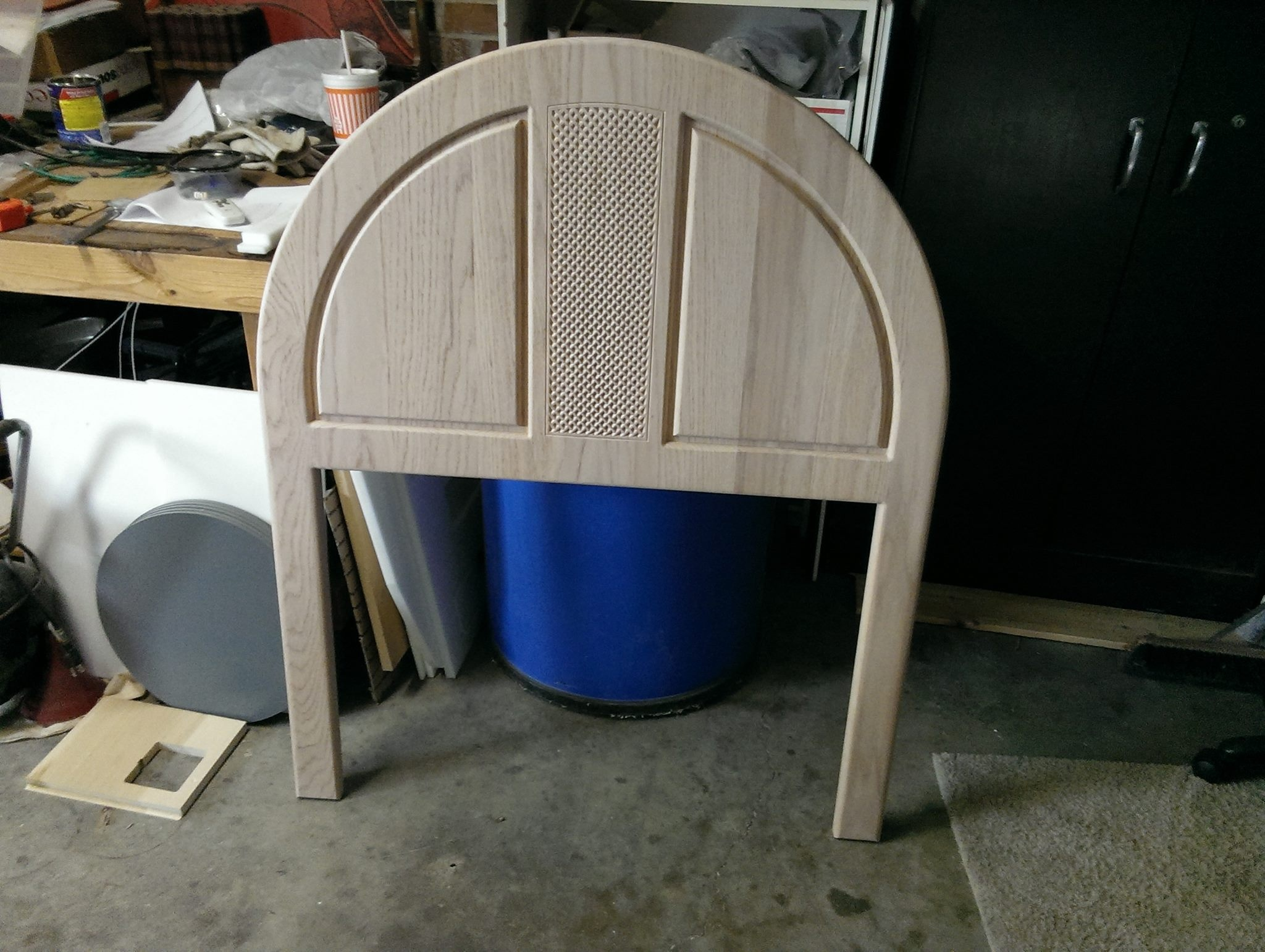 Custom Designed Head Board