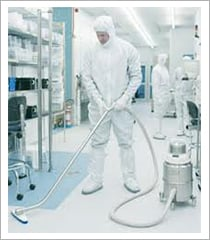 Steam cleaning floor    