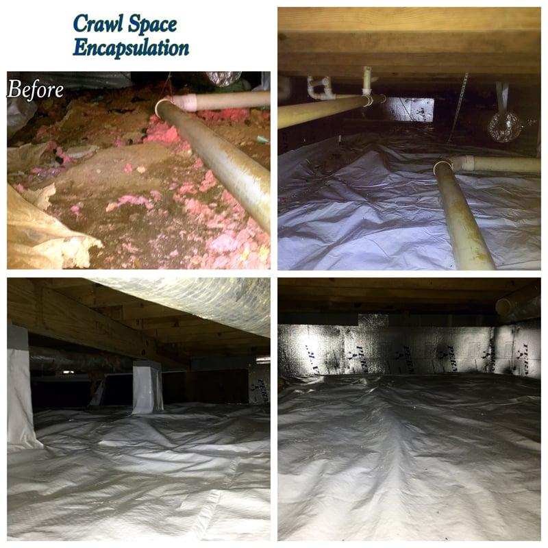 Crawl Space Encapsulation