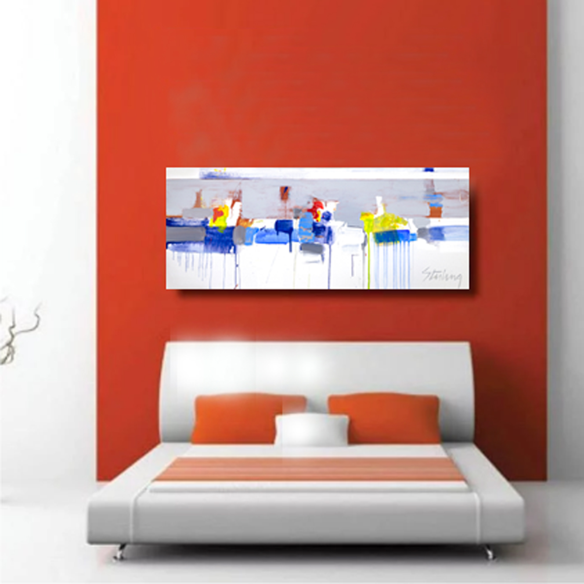 SWELL 24x50 giclee on canvas  $800