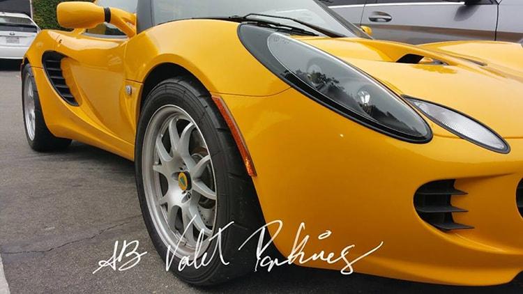 Sports Car Valet Service
