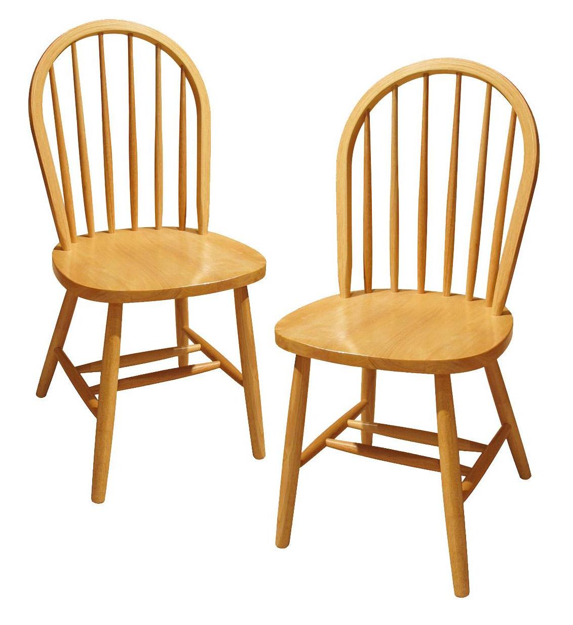 1063 Side Chairs Light Oak