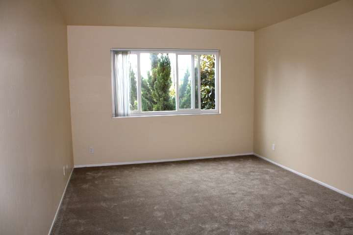 Second bedroom also has new carpet and plenty of privacy.