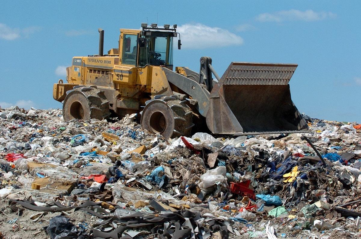 Waste pile disposal