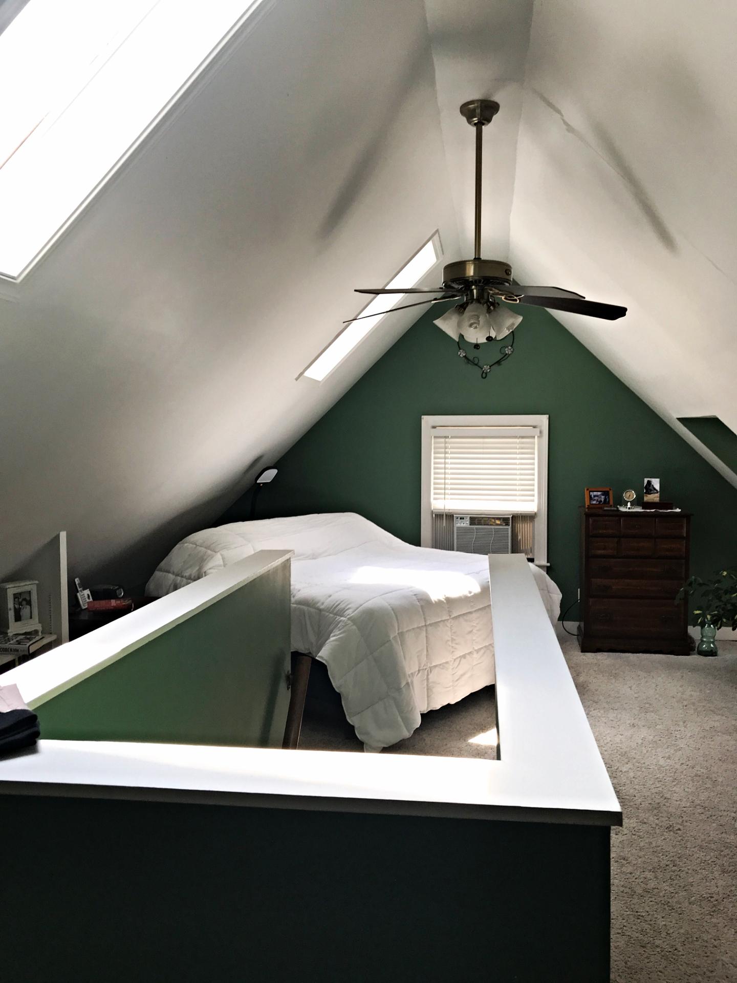 Drywall Repair & Paint (Before)