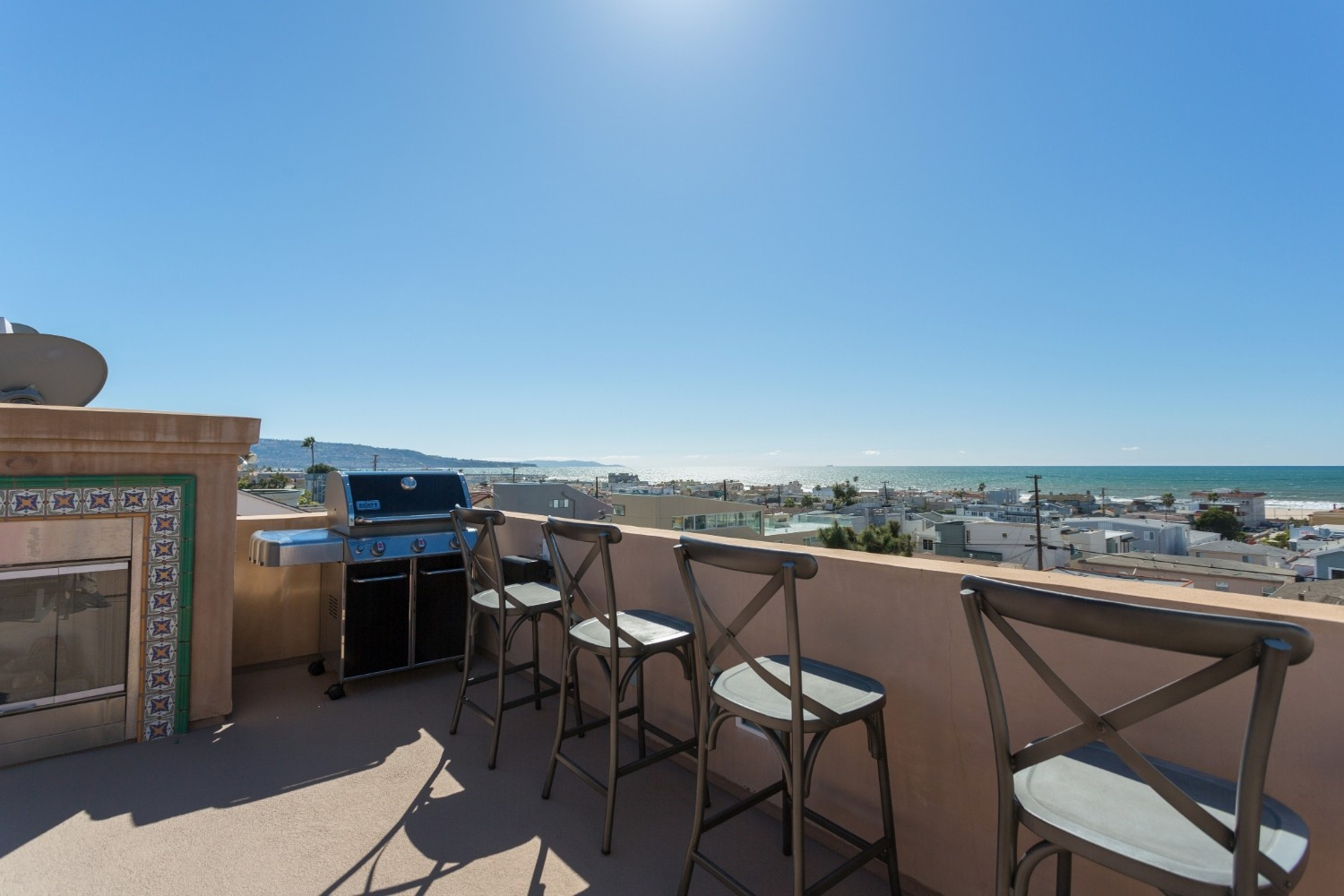 HB Ocean View Townhouse Roof Deck