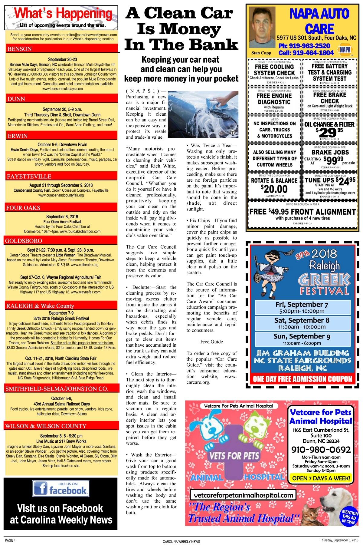 Eastern ncs free news weekly since 1989 carolina weekly news online solutioingenieria Choice Image