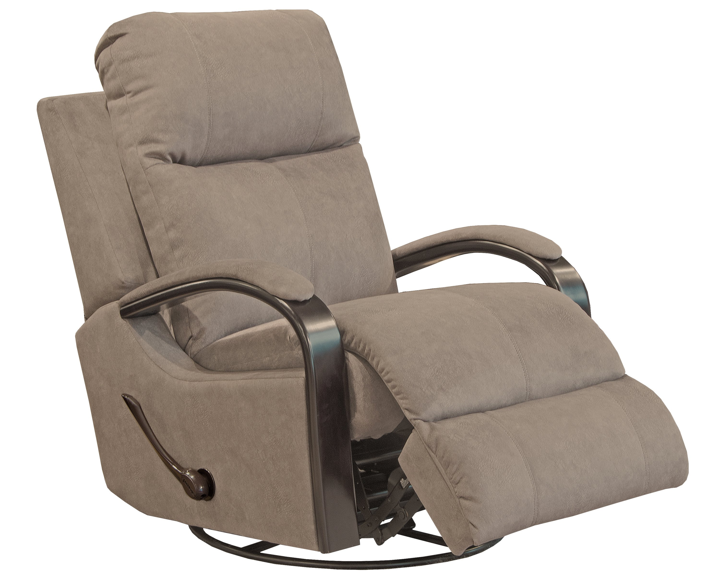 4703 Swivel Glider Recliner Tan