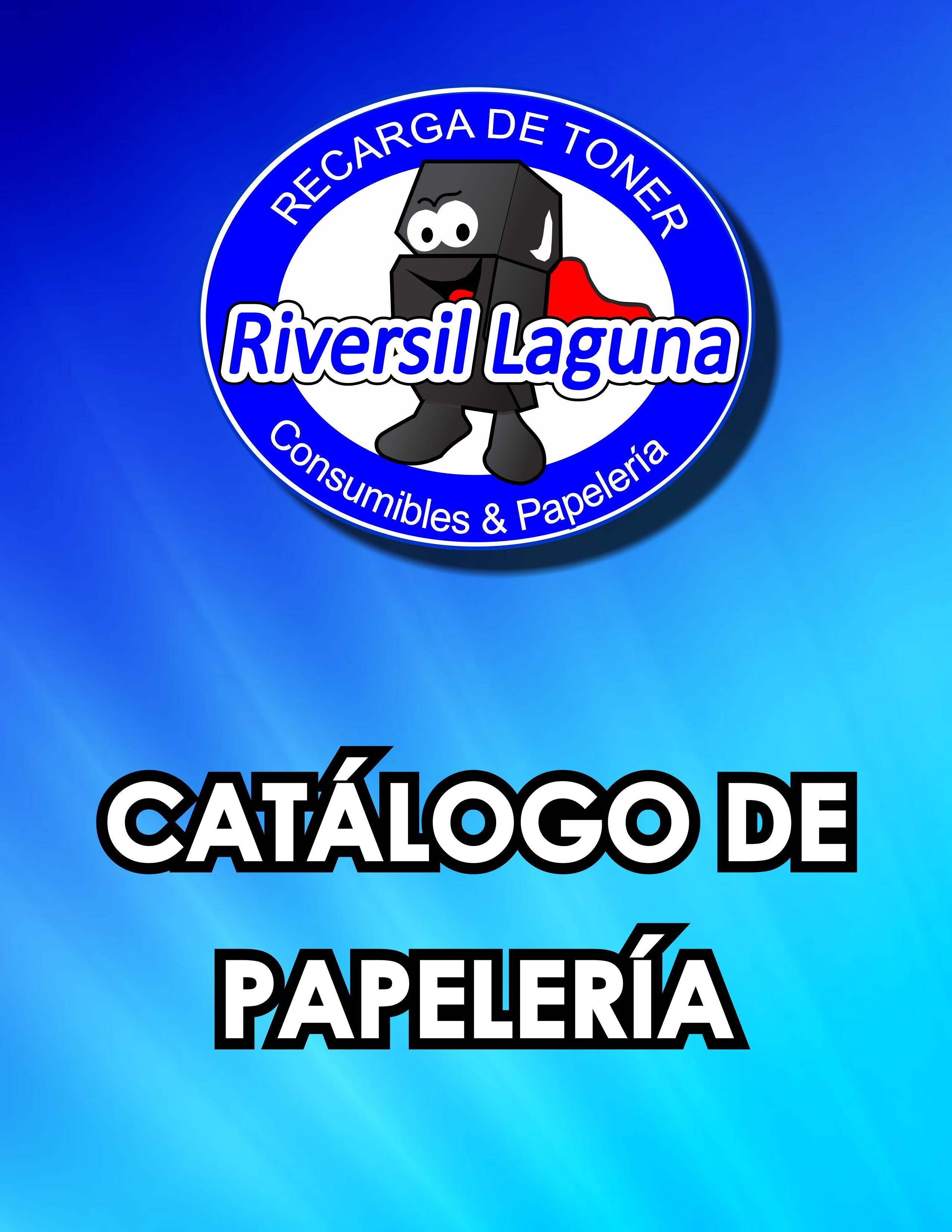 Catálogo de Papelería
