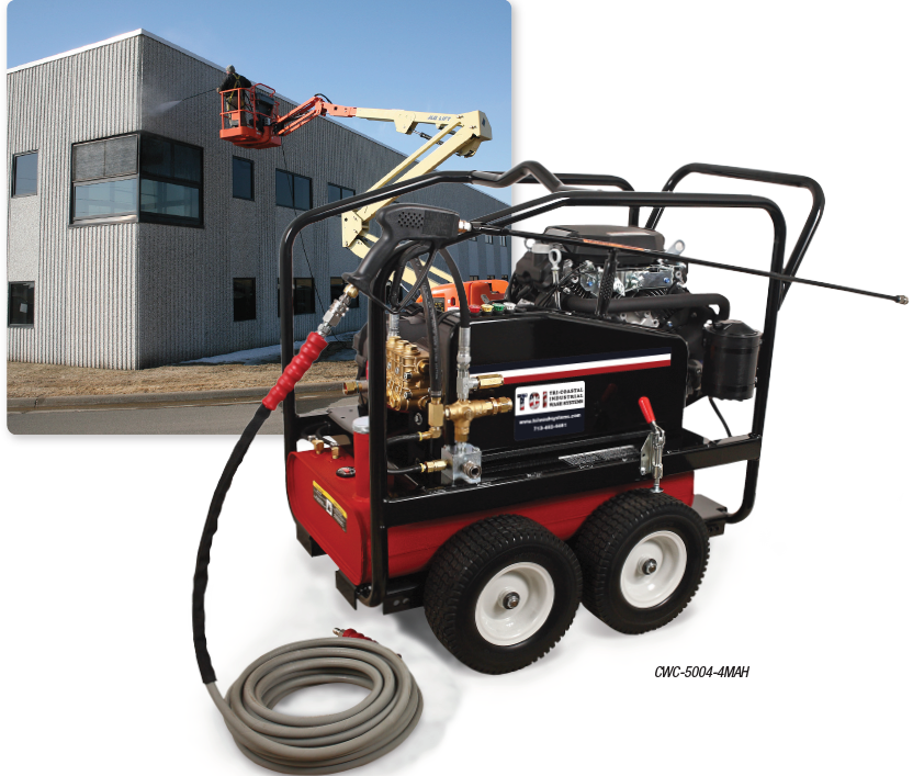CWC Premium Series Gasoline Belt Drive COLD WATER PRESSURE WASHERS