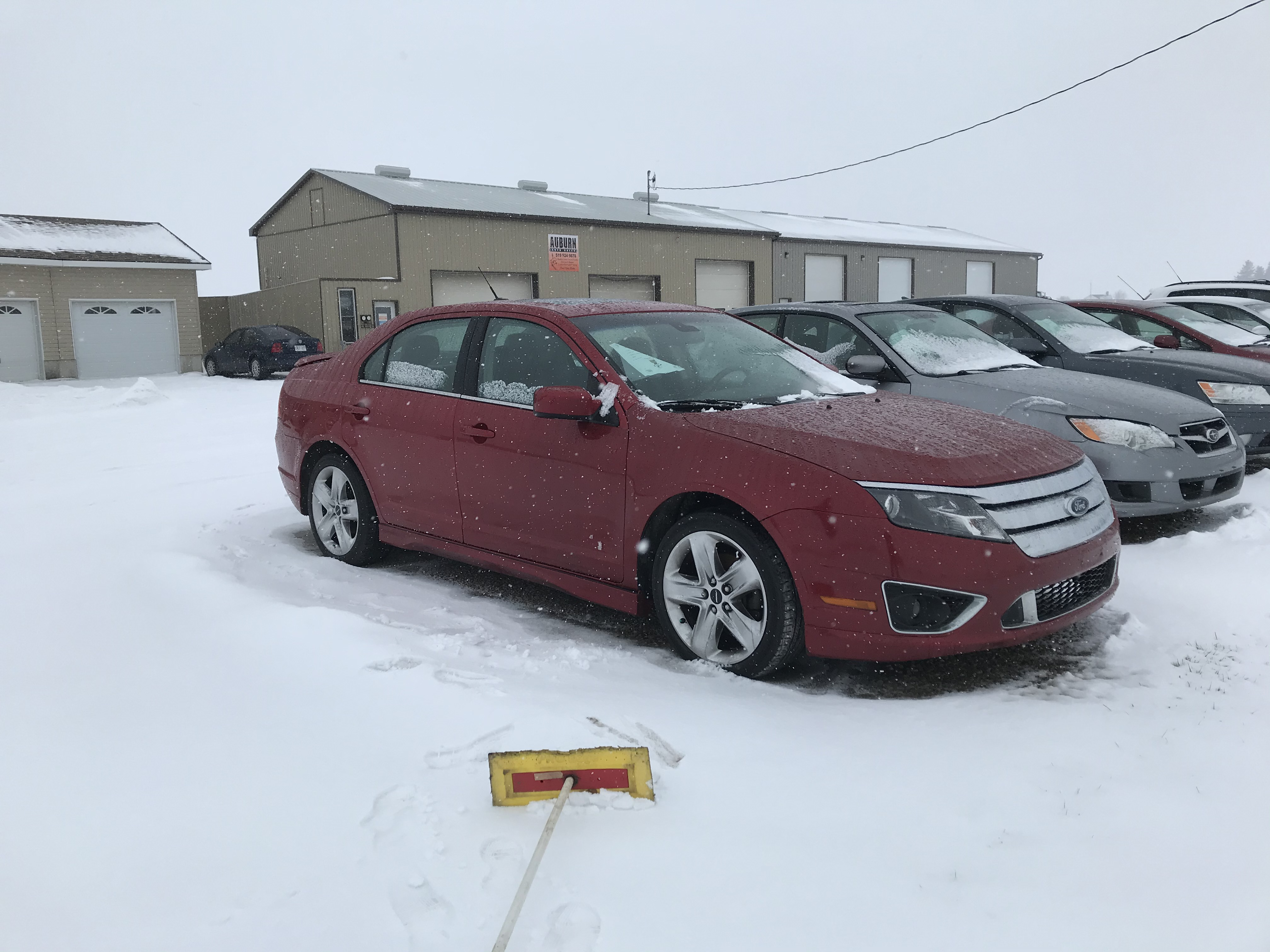 2011 Ford Fusion Sport 3.5 litre, automatic, loaded, leather, sunroof, navigation, AWD 138 723 km $6 495.00 + HST Certified