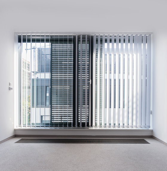 Enormous Window in Empty Office