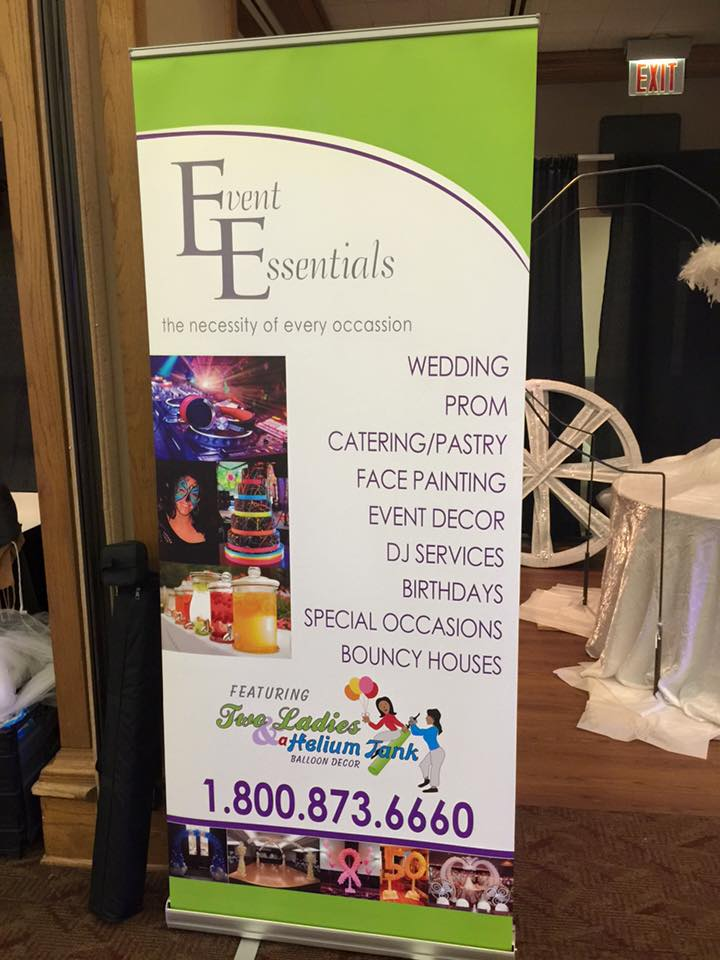 Event Essentials Standee