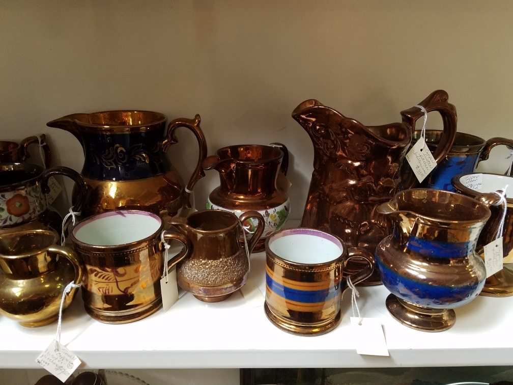 Copper Lusterware