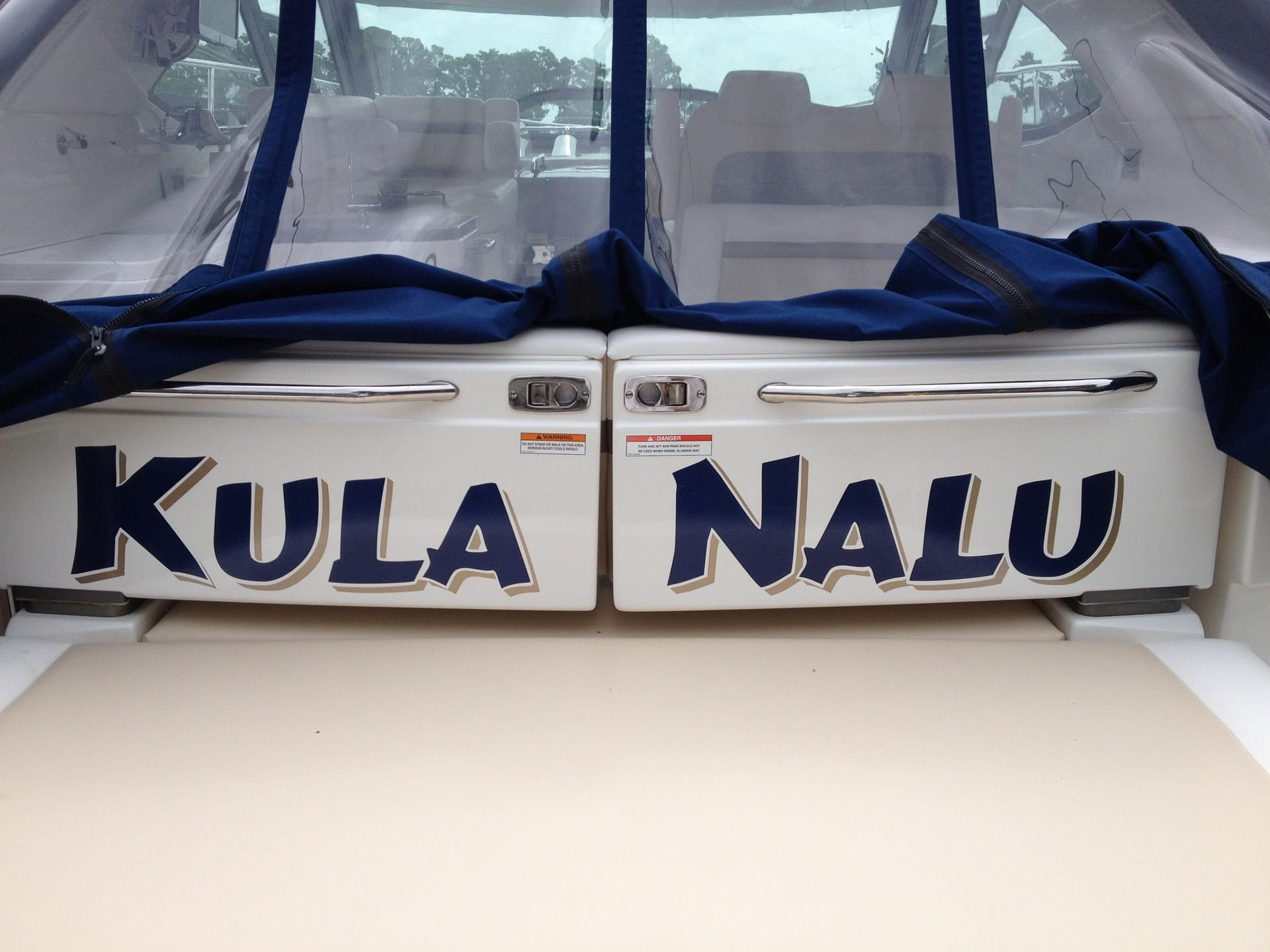 Kula Nalu Boat Lettering