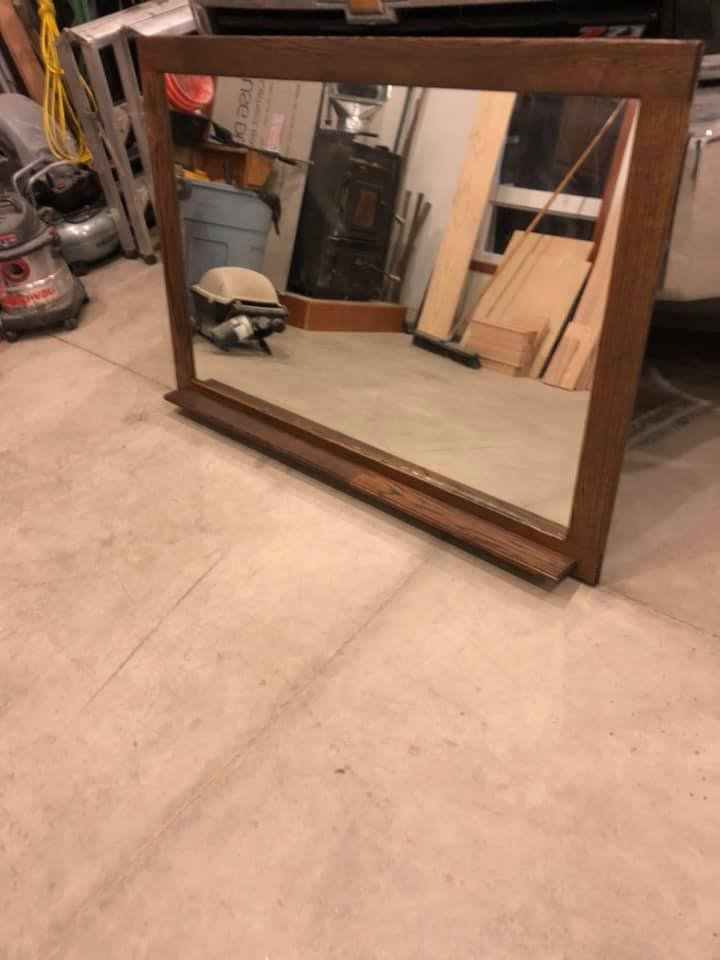 Finished Custom Mirror