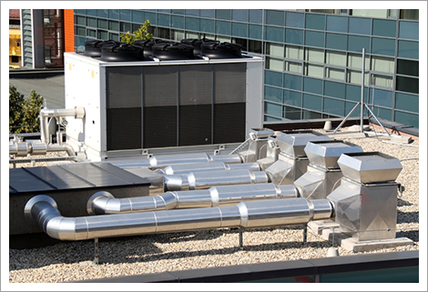 Air conditioners on the roof||||