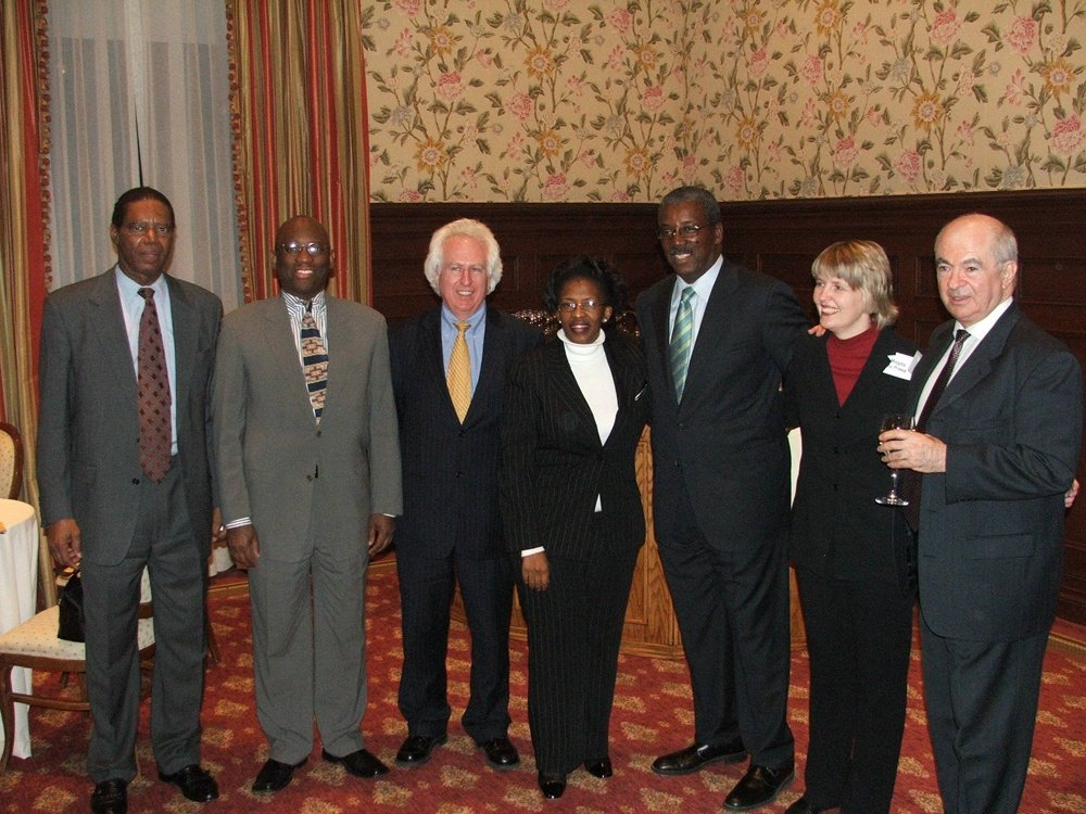 SACCA Trustees, South Africa Consul General and Frank Savage