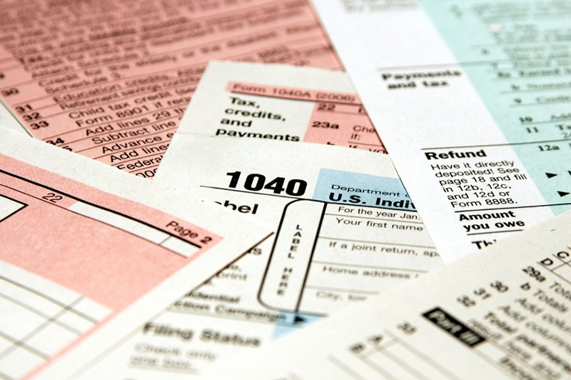 1040 income tax return forms