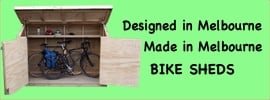 Bicycle sheds