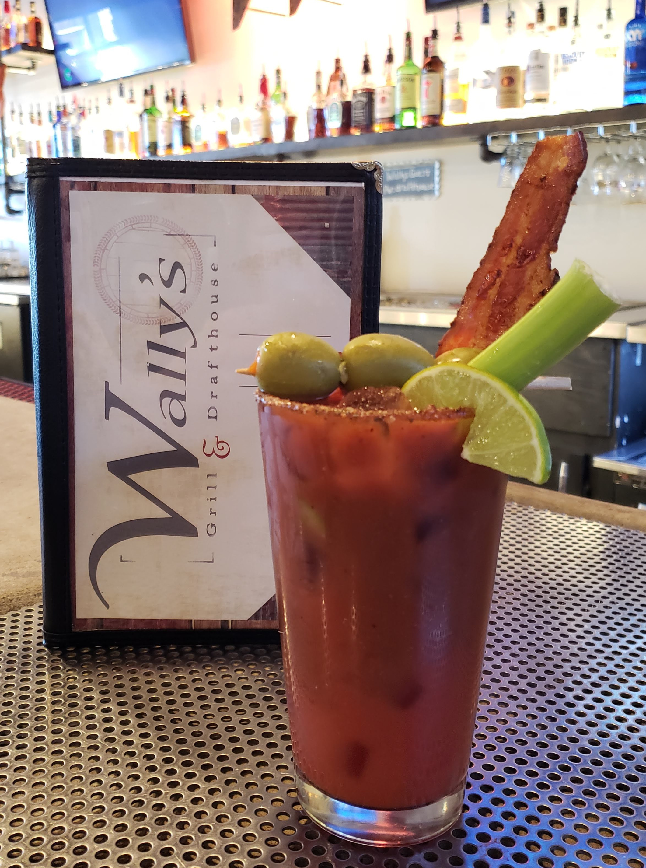 Wally's Special Bloody Mary with House-made Pepper Vodka