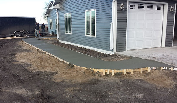 Concrete Walkway Project