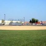 full size baseball field