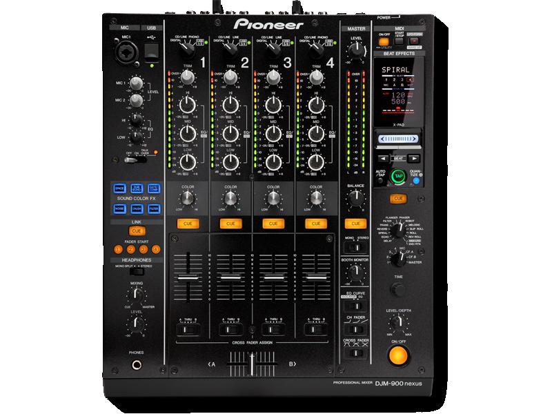 Pioneer DJM900 Nexus Hire