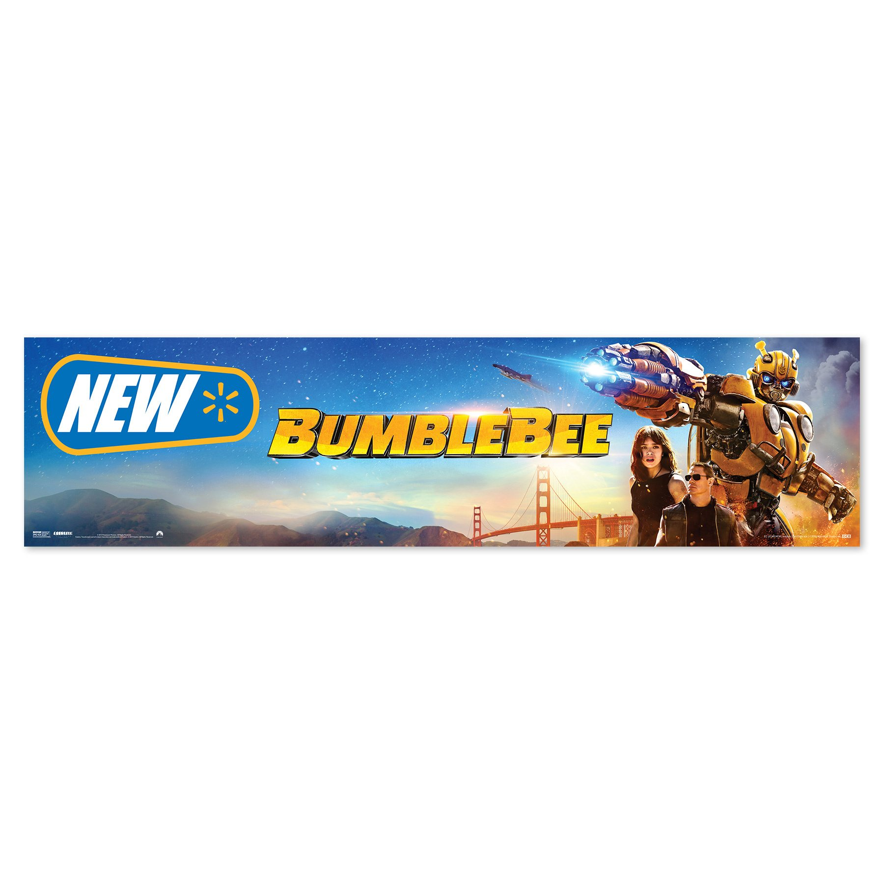 BumbleBee Walmart New Release Header