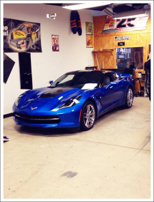 Image of tinted 2014 stingray||||