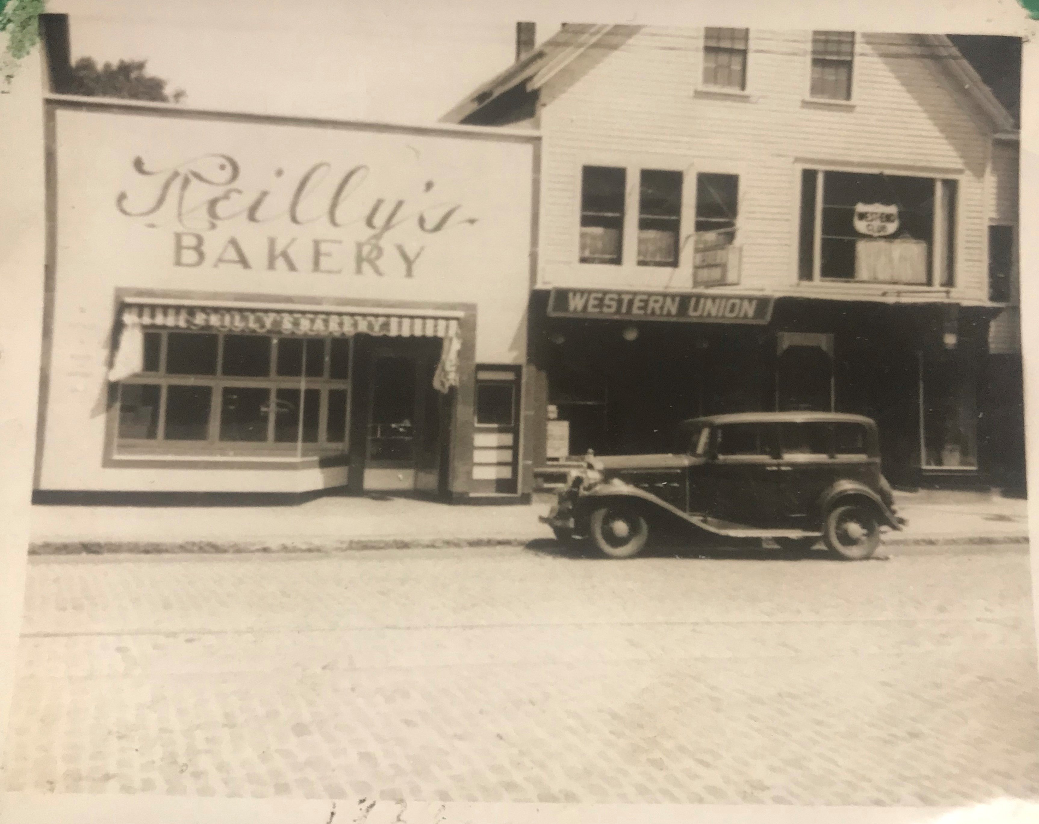 Old Photo of Reilly's Bakery