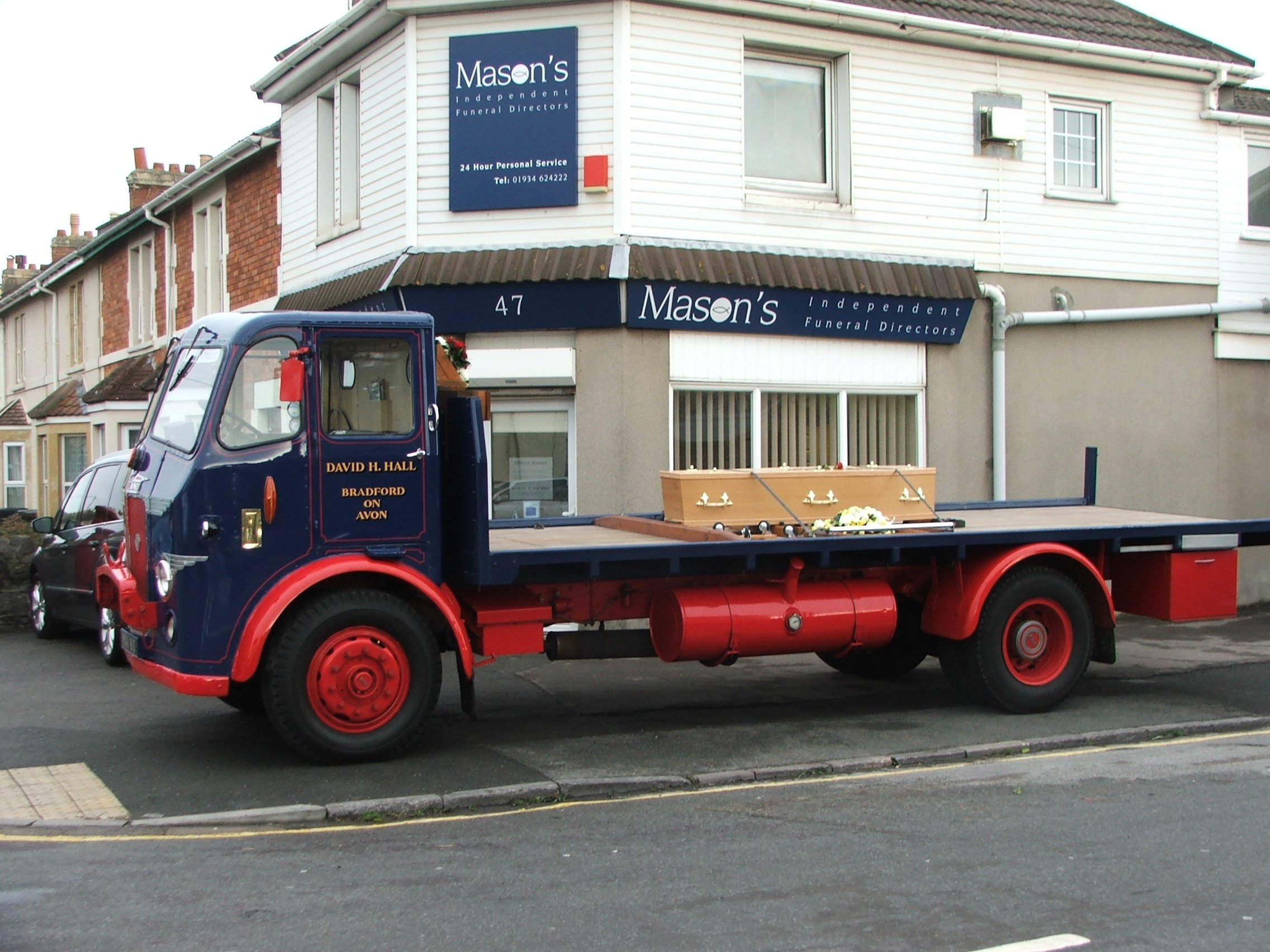 Lorry Hearse