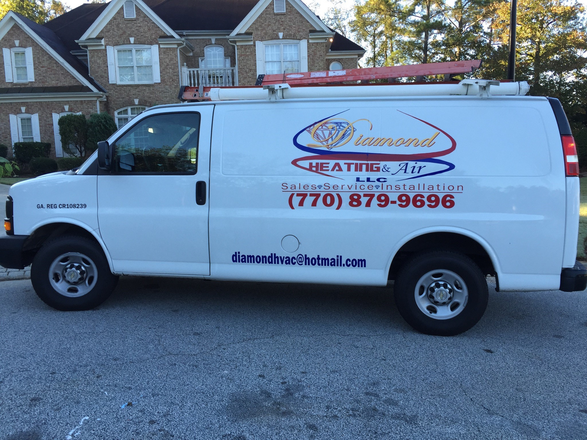 Heating And Air Conditioning Van 2