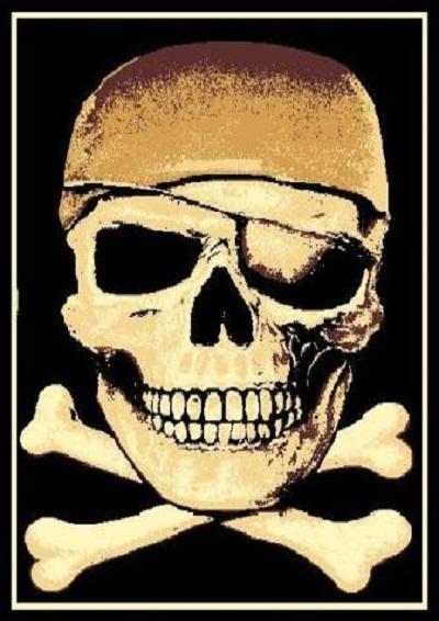 Pirate  5x7