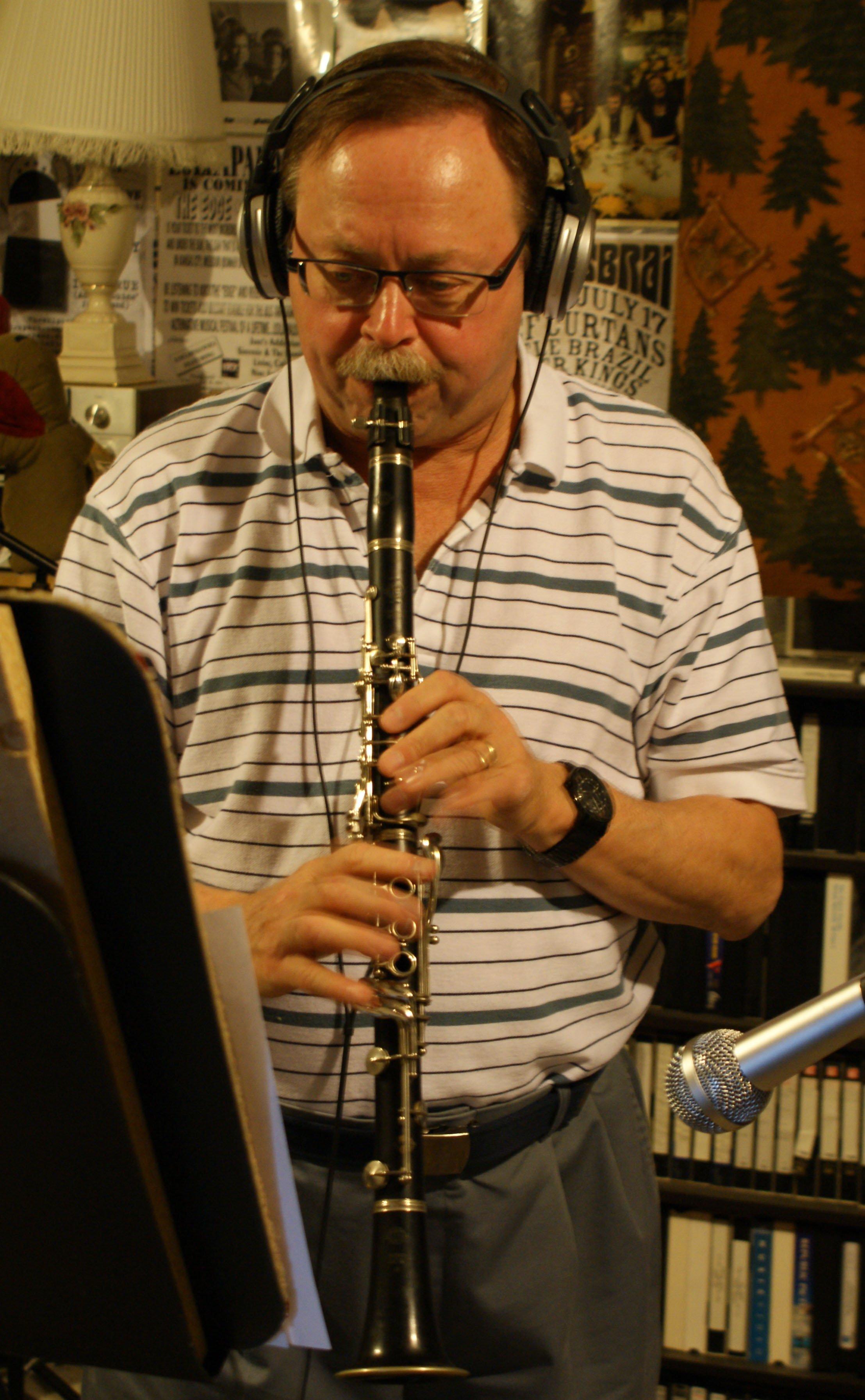 Bob Zagozda recording 2nd CD from Omaha, NE