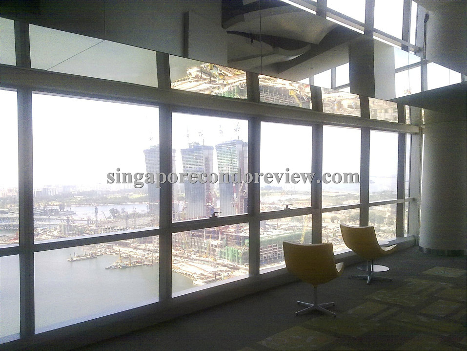Residents Lounge on Level 34 of Tower 2