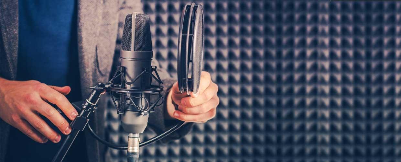 Voice Talent In The Studio