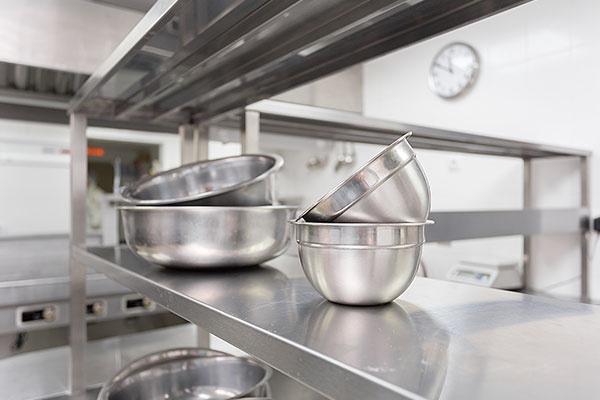 Kitchen Equipment in a Restaurant