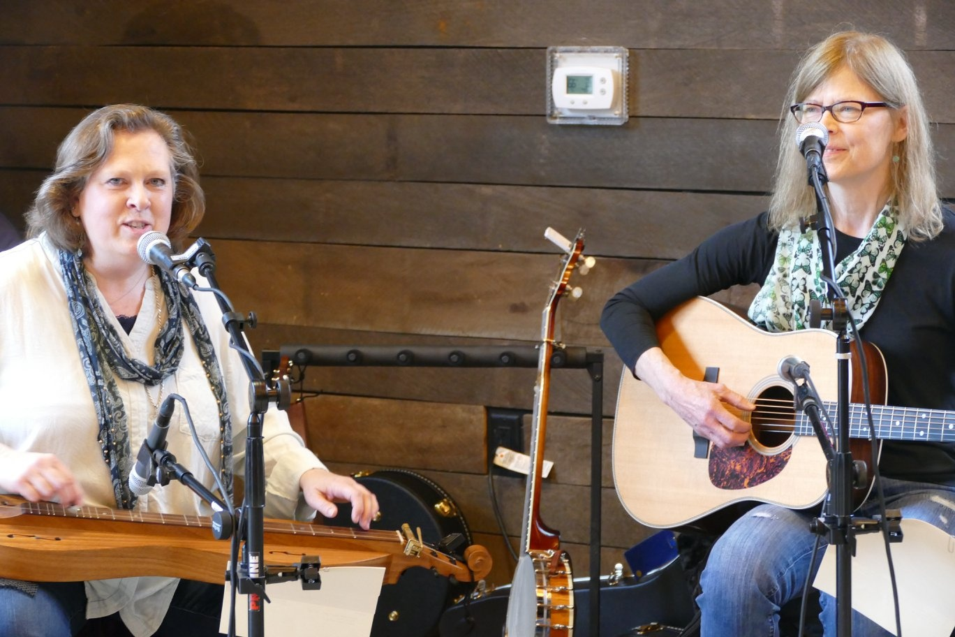 Lee Cagle and Mary Baddour, Butterfly Gap, at Ag Day, Germantown Farm Park 2018
