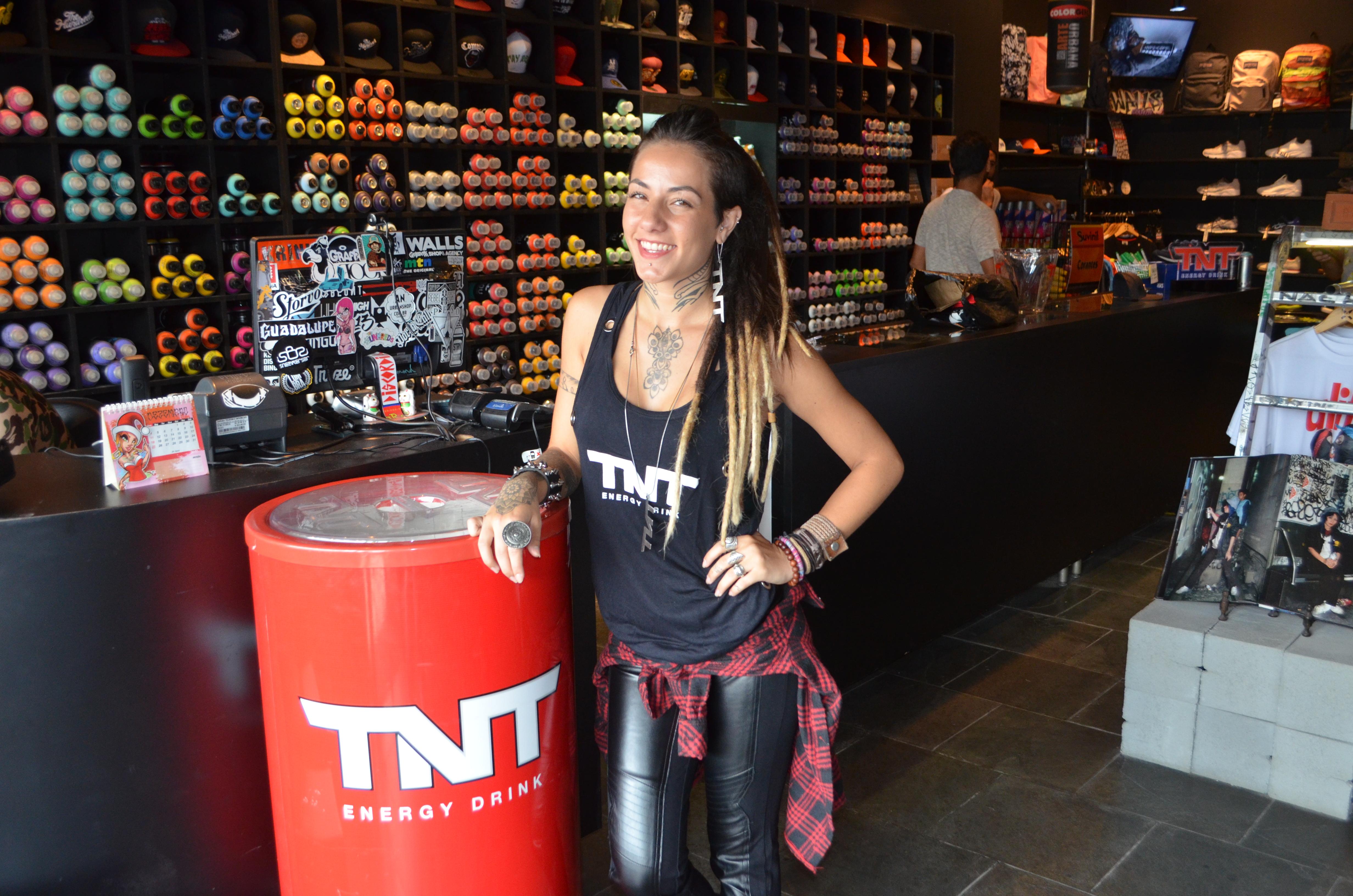 TNT Grafite
