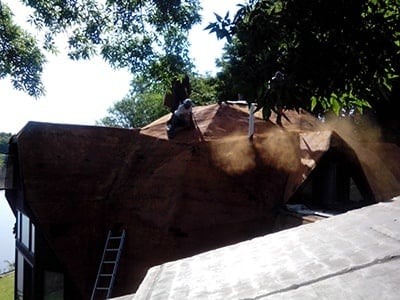 Roof During Repair