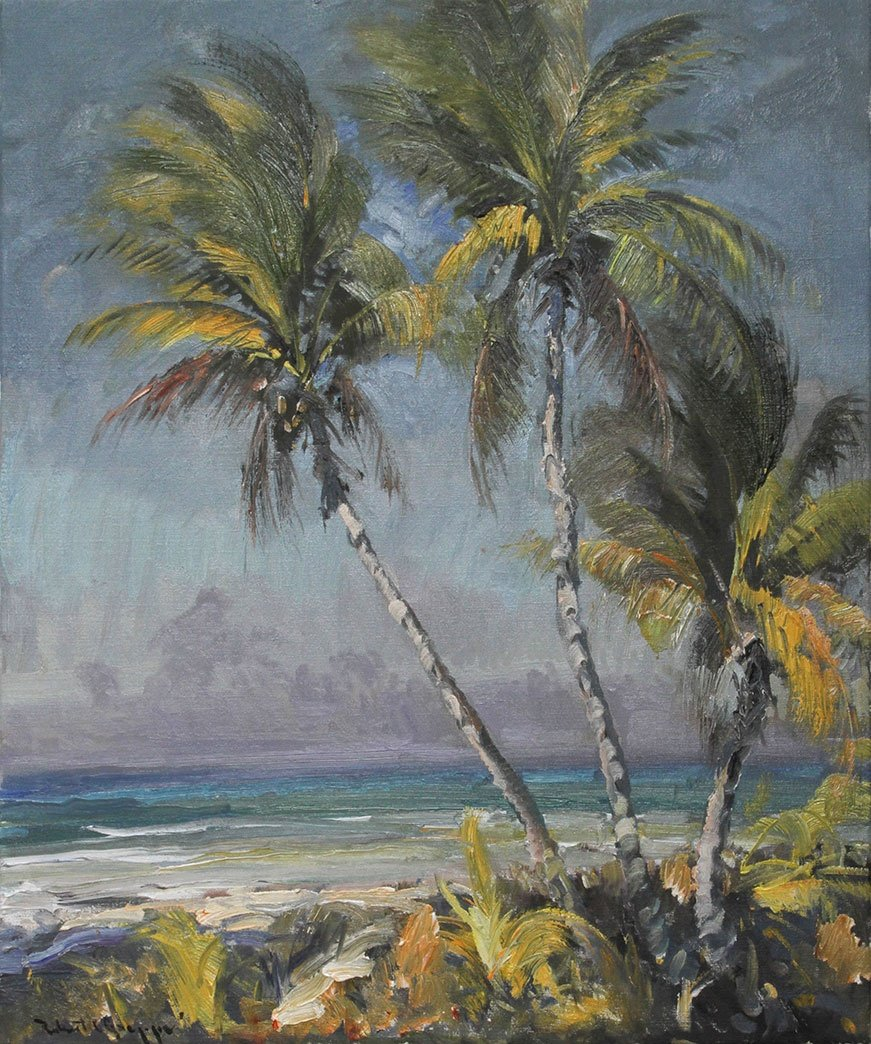 Coconuts on Gulf 30x36