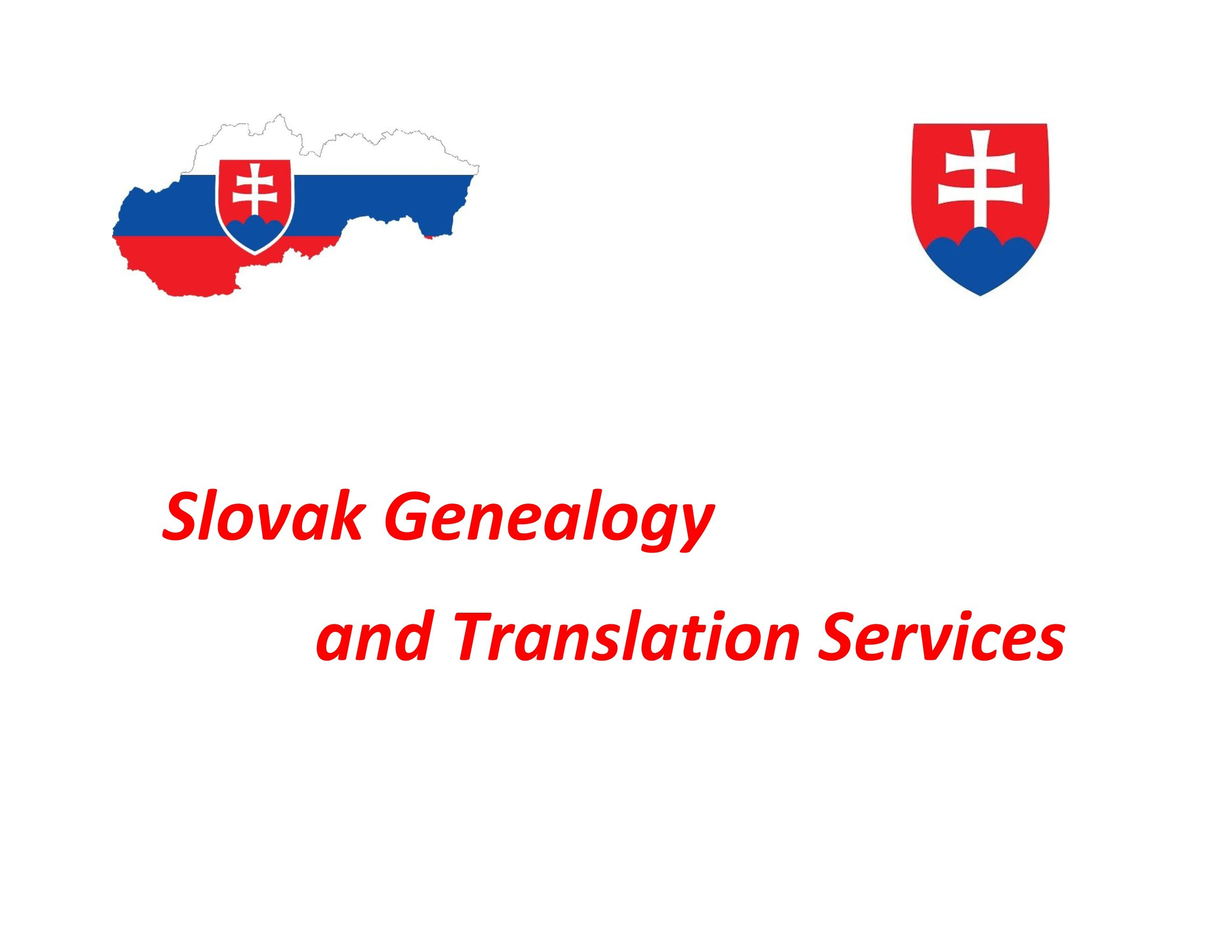 Slovak Genealogy and Translation Services - FAQ